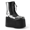 MONSTER-10XRAY Black Faux Leather